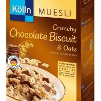 Kolln Muesli Crunchy Chocolate Biscuit & Oats Cereal Sereal Coklat