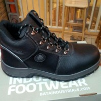 sepatu safety merk BATA/DARWIN BLACK
