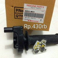 Grip assy throttle KLX 140L 46018-0073