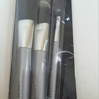 laneige set of powder, foundation, & lip brush