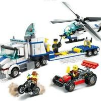 Jual Lego Wange Police Helicopter Transporter. Murah