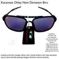 harga KACAMATA SUNGLASSES OAKLEY DEVIATION BLACK SKY FULL SET Tokopedia.com