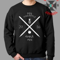 Sweater Pen Pineapple Apple Pen [Ppap] - Brothersapparel