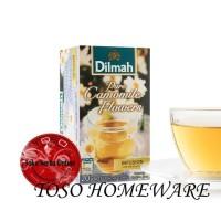 harga Teh Dilmah Chamomile Dilmah Pure Camomile Flowers Tea - 20 Teabag Tokopedia.com