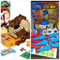 Jual Pirate Roulette + Bad bulldog (2 in 1 Runningman games) pie face Murah