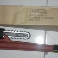 Pipe Wrench / Kunci Pipa Heavy Duty Cast Iron STANLEY 1 Berkualitas