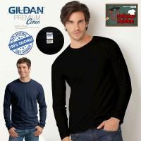 Jual Kaos Gildan Premium Long Sleeve 76400 Lengan Panjang Polos Murah