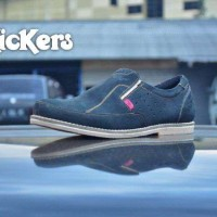 Sepatu Slop Pria Kickers , Kickers Kulit , Slip On Pria
