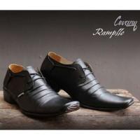 Sepatu Pantofel Kulit Pria Cevany/Sepatu Kerja dan Pesta Kantor murah