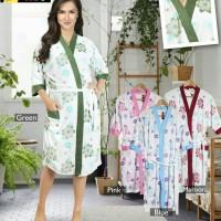 Jual Kimono Handuk Ibu *Happy Sun Flower for Mom :) Murah