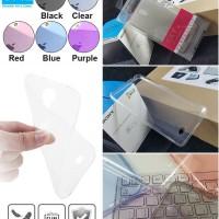 Oppo Joy 3 Ume Ultrathin Air Soft Cover Silikon Sarung Case 0.3mm