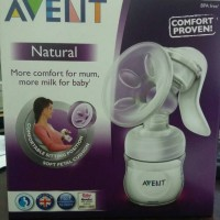 Avent Natural Breast Pump Manual - Pompa Asi Avent Manual