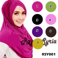 Jual Hijab/Jilbab Instant Syria Rayna Murah