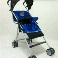 Kereta Dorong Stroller Bayi Simple Untuk Travelling Murah