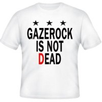 T-SHIRT GAZEROCK IS NOT DEAD High Quality