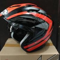 harga Helm Double Visor Murah Hiu Arrow Motif Tokopedia.com