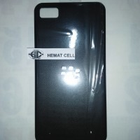 BACK DOOR /TUTUP BELAKANG CASING / TUTUP BATRE BB Z10 BLACK ORIGINAL