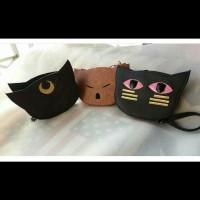 tas sailor moon kucing emoticon cat kitty sling bag korea cartoon lucu