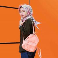 harga tumblr tas ransel backpack polos mini korea peach pink lucu import ori Tokopedia.com