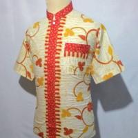 Jual Kemeja Baju Hem Batik Pria Cowok Batik Koko Muslim Takwa Shanghai BKT8 Murah