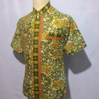 Jual Kemeja Baju Batik Pria Cowok Batik Koko Muslim Takwa Shanghai BKT10 Murah