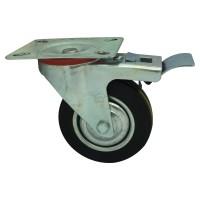 Kaki Roda Etalase / Gerobak Dorong Karet 3 IN REM