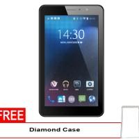Advan Vandroid E1C 3G - RAM 1GB - 8GB - Putih + Gratis Silicon Case