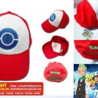 Jual Topi Ash Pokemon (Best Wishes Version) Murah
