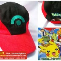 Jual Topi Ash Pokemon (Advanced Generation Version) Murah