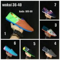harga Sepatu Wakai Sepatu Selop Tokopedia.com