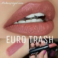 NYX MATTE LIPSTICK EURO TRASH ORIGINAL