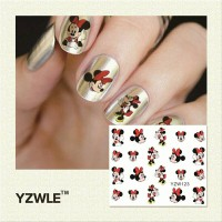 water nail sticker mickey / stiker kuku micky