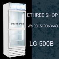 DISPLAY COOLER LG-500B / SHOWCASE COOLER / LEMARI PENDINGIN / CROWN