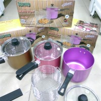harga DEEP FRYER Multi 18 cm Panci Penggorengan Alcor Maspion Pan Dryer Ayam Tokopedia.com