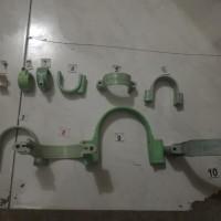 Harga klem pvc pipa 5 8 inch penahan pipa | WIKIPRICE INDONESIA