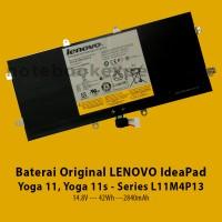 Baterai Original LENOVO IdeaPad Yoga 11, Yoga 11s - Series L11M4P13
