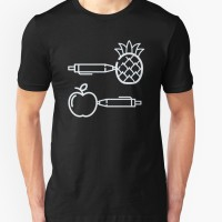 Tshirt Pen Pineapple Apple Pen - Fightmerch