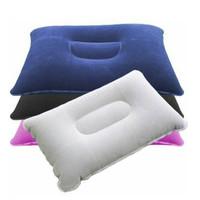 bantal kepala kecil tiup untuk travel / travel pillow - hhm070
