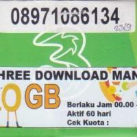 KARTU TRI DOWNLOAD MANIA KUOTA 10 GB BERLAKU JAM 00.00 - 09.00