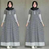 Baju Muslim Gamis Syar'i Busana Muslim Salwa Dress