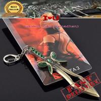 Keychain Dota 2 The Butterfly Sword Weapon
