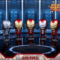 Hot Toys Cosbaby Iron Man Mark 1 - 7 (7 pcs)