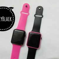 Jam Tangan iwatch LED / Apple Watch / Jam Tangan LED fashion (paket)
