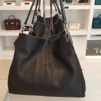COACH AUTHENTIC PHOEBE BLACK SHOULDER BAG