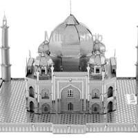 3D Metal Puzzle - Taj Mahal SILVER