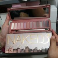 Jual Distributor Kualitas d'best Eye Shadow Naked 3 Palette Pallete Palet Murah