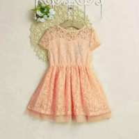 baju dress anak perempuan GR FT#493340-Kid Dress Maissy