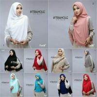 Jilbab Khimar triangle Cutting Hijab