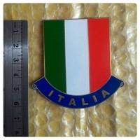 ITALIA BADGE EMBLEM STICKER PIAGGIO CAR VESPA LAMBRETTA