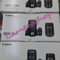 CANON EOS 700D KIT 18-55MM IS II (MEMORY 16GB+TAS+UV FILTER)